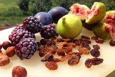 Πιατέλα φρούτων Στοκ Φωτογραφία