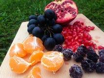 Πιατέλα φρούτων Στοκ εικόνες με δικαίωμα ελεύθερης χρήσης