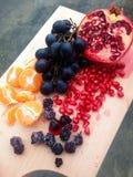 Πιατέλα φρούτων Στοκ φωτογραφίες με δικαίωμα ελεύθερης χρήσης