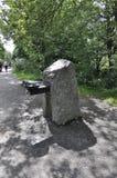 Πιείτε την πηγή νερού στο πάρκο του υποστηρίγματος βασιλικό από το Μόντρεαλ στην επαρχία του Κεμπέκ Στοκ φωτογραφία με δικαίωμα ελεύθερης χρήσης