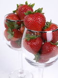 πιείτε τη φράουλα Στοκ φωτογραφίες με δικαίωμα ελεύθερης χρήσης
