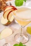 Πιείτε το αχλάδι μήλων Στοκ Εικόνα