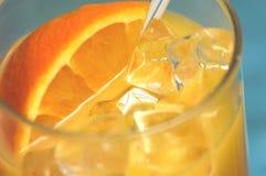 πιείτε το πορτοκάλι Στοκ Εικόνες
