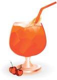 πιείτε το πορτοκαλί καλ&o ελεύθερη απεικόνιση δικαιώματος
