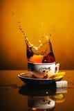 πιείτε το τσάι Στοκ Εικόνες