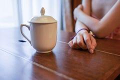 πιείτε το τσάι Στοκ Φωτογραφίες