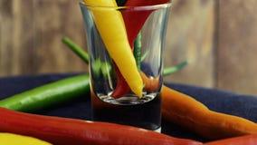 Πικάντικα πιπέρια τσίλι στοκ φωτογραφία με δικαίωμα ελεύθερης χρήσης