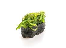 πικάντικα σούσια σαλάτας φυκιών Στοκ φωτογραφία με δικαίωμα ελεύθερης χρήσης