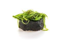 πικάντικα σούσια σαλάτας φυκιών Στοκ φωτογραφίες με δικαίωμα ελεύθερης χρήσης
