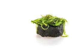 πικάντικα σούσια σαλάτας φυκιών Στοκ Εικόνες