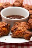 πικάντικα φτερά κοτόπουλ&omi Στοκ φωτογραφία με δικαίωμα ελεύθερης χρήσης