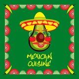 πικάντικα tacos σάλτσας κουζίνας πράσινα μεξικάνικα παραδοσιακά Στοκ εικόνα με δικαίωμα ελεύθερης χρήσης