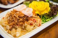 Πικάντικη σαλάτα γκρέιπφρουτ με τις γαρίδες στοκ φωτογραφίες με δικαίωμα ελεύθερης χρήσης