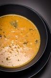 Πικάντικη σούπα καλαμποκιού Στοκ Εικόνες