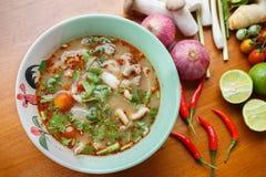 Πικάντικη σούπα Pock Στοκ φωτογραφία με δικαίωμα ελεύθερης χρήσης
