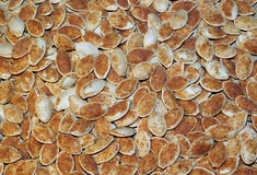 Πικάντικοι σπόροι κολοκύθας Στοκ Φωτογραφία