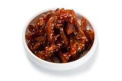 Πικάντικος-γλυκιά σαλάτα heh του βακαλάου Στοκ φωτογραφία με δικαίωμα ελεύθερης χρήσης