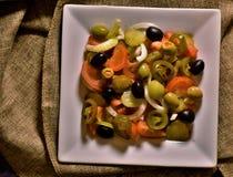 Πικάντικος συνδυασμός σαλάτας στοκ φωτογραφία