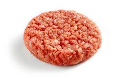 Πικάντικο ακατέργαστο burger κρέας Στοκ φωτογραφία με δικαίωμα ελεύθερης χρήσης