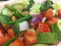 Πικάντικο λαχανικό μιγμάτων Στοκ εικόνες με δικαίωμα ελεύθερης χρήσης