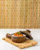 Πικάντικο ινδικό κοτόπουλο Korma Στοκ Εικόνα