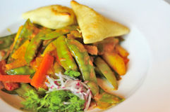 πικάντικο λαχανικό πιάτων Στοκ Εικόνα
