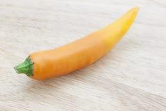 Πικάντικο πορτοκαλί τσίλι Στοκ Εικόνες