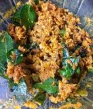 Πικάντικο chutney καρύδων του Κεράλα Στοκ εικόνα με δικαίωμα ελεύθερης χρήσης