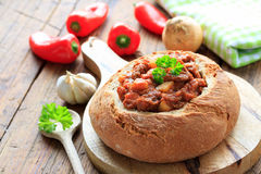 πικάντικο stew βόειου κρέατο Στοκ Φωτογραφίες
