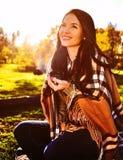 Πικ-νίκ φθινοπώρου Στοκ φωτογραφία με δικαίωμα ελεύθερης χρήσης