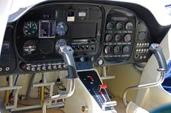 πιλοτήριο αεροπλάνων Στοκ Εικόνες