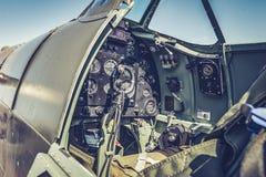 Πιλοτήριο Spitfire Supermarine στοκ εικόνες