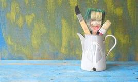Πινέλα ενός καλλιτέχνη Στοκ Εικόνες