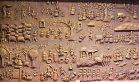 Πινακίδα Ινδία της Leela Krishna στοκ εικόνες
