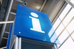 Πινακίδα πληροφοριών Στοκ φωτογραφία με δικαίωμα ελεύθερης χρήσης