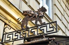 Πινακίδα του Griffin Στοκ Φωτογραφίες
