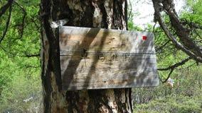 Πινακίδα Zhuomalacuo (θάλασσα μαργαριταριών) στη φυσική περιοχή Yading Στοκ Φωτογραφίες