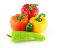 πιπέρια διάφορα Στοκ Φωτογραφία