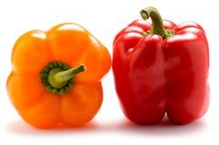 πιπέρια δύο Στοκ Εικόνες