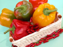 πιπέρια κουδουνιών στοκ εικόνες με δικαίωμα ελεύθερης χρήσης