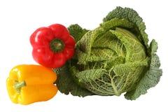 πιπέρια λάχανων Στοκ Εικόνες