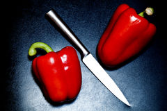 πιπέρια μαχαιριών Στοκ φωτογραφία με δικαίωμα ελεύθερης χρήσης