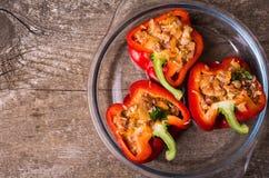 πιπέρια που γεμίζονται Στοκ φωτογραφία με δικαίωμα ελεύθερης χρήσης