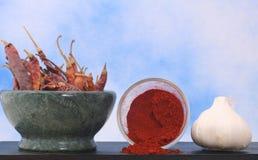 πιπέρια σκόρδου Στοκ φωτογραφίες με δικαίωμα ελεύθερης χρήσης
