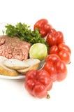 πιπέρια συστατικών που γ&epsilo Στοκ εικόνες με δικαίωμα ελεύθερης χρήσης
