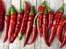 Πιπέρια του Cayenne στοκ φωτογραφίες