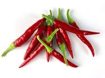 Πιπέρια του Cayenne στοκ φωτογραφίες με δικαίωμα ελεύθερης χρήσης