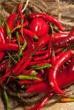 πιπέρια του Cayenne Στοκ εικόνα με δικαίωμα ελεύθερης χρήσης