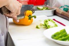 πιπέρια τρία χρώματος στοκ φωτογραφία με δικαίωμα ελεύθερης χρήσης