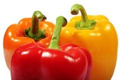 πιπέρια τρία Στοκ φωτογραφία με δικαίωμα ελεύθερης χρήσης